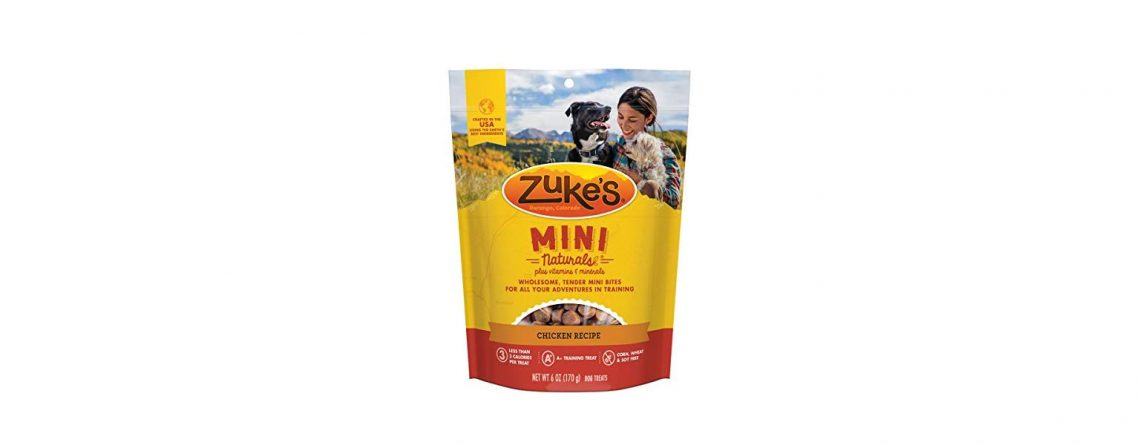 Zuke's Natural Training Dog Treats Mini Naturals Recipe
